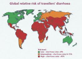 Mappa dei Paesi più a rischio.